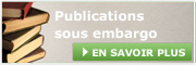 Publications sous embargo